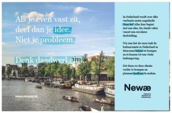 Advertentie A5 - Newae